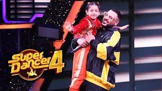 Super Dancer 4 | Florina Ko God Me Utha Liya Badshah Ne, Florina Ne Jeeta Dil