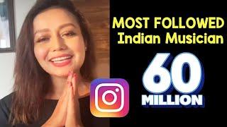 Indian Idol 12 Judge Neha Kakkar   MOST FOLLOWED Indian musician   60M+ Followers