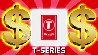 highest you tube subscribers record for T-series