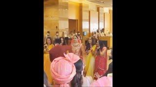 Bride Disha Parmar First Look, Baarat | Rahul Vaidya Disha Parmar Wedding