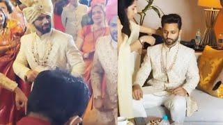Rahul Vaidya Dancing In His Baarat, First Look   Rahul Disha Ki Shaadi