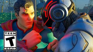 The Foundation Meets Superman in Fortnite Trailer