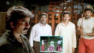Krack Malayalam Movie Scenes   Ravi Teja Burst Out On Atul Kulkarni & Subbaraju