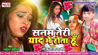 2021- HINDI SAD SONG #Raj_Rajdhani - सनम तेरी याद में रोता हूं - Sanam Teri Yad Me Rota Hu - बेवफाई