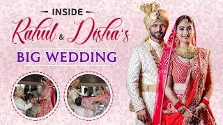 Inside Rahul Vaidya & Disha Parmar's GRAND WEDDING: From haldi to shaadi | DisHul