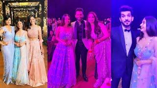 Beautiful Anushka Sen Aur Shweta Tiwari Dikhi Rahul Disha Ke Wedding Reception Par