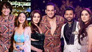 Rahul Aur Disha Ke Wedding Me Vikas Gupta Bhi Dikhe | Rahul Vaidya Disha Wedding Reception'