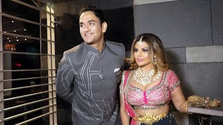 Vikas Gupta And Rakhi Sawant At Rahul Disha Sangeet | DisHul Sangeet Ceremony