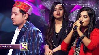 Pawandeep Ne Bich Me Choda Gaana, Sayli Ne Diya Sath Aur Badhaya Housala | Indian Idol 12