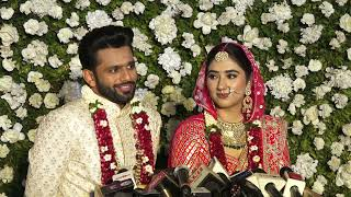 Rahul Vaidya and Disha Parmar First Interview After Wedding - Rahul Or Disha Ki Shaadi