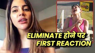 Khatron Ke Khiladi 11 | Nikki Tamboli FIRST Reaction After Elimination, Kya Hogi Wapsi?