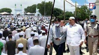 Eid Ki Namaz Ki Tayyari   Md Saleem   Moazam Khan Ne Kiya Eidgah Mir Alam Ka Daura   SACH NEWS  
