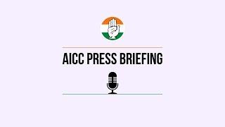 LIVE: Congress Party Briefing by Mallikarjun Kharge, Adhir Ranjan and Randeep S Surjewala at AICC HQ