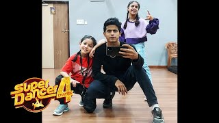 Super Dancer 4   Tushar Shetty, Florina Aur Ditya COOL Moment Captured, Best Jodi