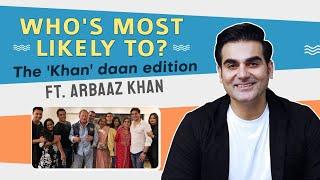 Salim Khan, Salman Khan, Arbaaz Khan, Sohail Khan, Alvira or Arpita: Who's Most Likely To | Khandaan