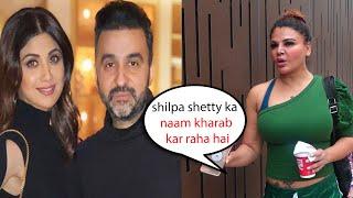 Rakhi sawant shocking reaction on Raj Kundra Arrest   Shilpa shetty meri achi dost hai