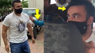 Exclusive : Shilpa shetty husband Raj kundra arrived to court in police jeep |Raj kundra arrest news