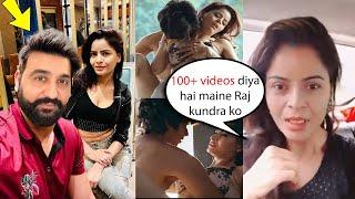 Gehana Vasisth First reaction on Raj kundra Arrest, Mai Raj Ke kehne par bahuth videos kiya hu