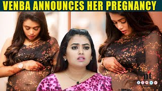 Bharathi Kannamma ???? Venba Pregnant | Farina Announces Her Pregnancy