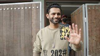 Rahul Vaidya Full Masti Mood Me, Shaadi Ke Baad Pehli Baar Media Se Mile