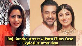 Gehana Vasisth Interview - Shilpa Shetty's Husband Raj Kundra Arrested Case & Models Allegations