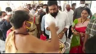 Kodali Nani Family Durga devi Puja   social media live