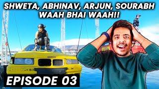 Khatron Ke Khiladi 11 EP 03 | Abhinav, Arjun Bijlani, Shweta Tiwari Aur Sourabh Ne Maari Baazi