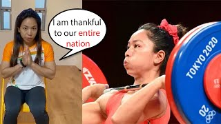 Mirabai Chanu First Reaction After Winning silver medal???????????? in Tokyo Olympics 2020????