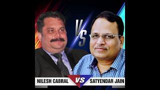 Delhi Power Minister Satyendar Jain arrives for Power Debate!