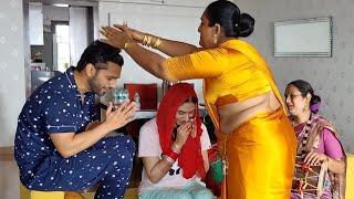 शादी के बाद Rahul Vaidya और Disha Parmar को आशीर्वाद देने पहुंचे ट्रांसजेंडर