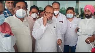 एयरपोर्ट में प्रदेश कांग्रेस अध्यक्ष समेत विधायकों को प्रवेश से रोका ऑथारिटी ने , हंगामा