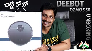 ECOVACS DEEBOT OZMO 950 Unboxing || Useful Gadget for housewife's