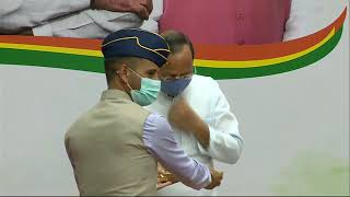 BJP National President Shri JP Nadda addresses a program on #KargilVijayDiwas at BJP HQ.