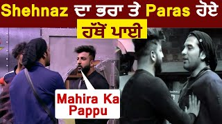 "Bigg Boss 13 : Shehbaz Took Shehnaz's Revenge From Paras    Said ""Mahira Ka Pappu""   Dainik Savera"