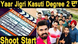 Yaar Jigri kasooti Degree  season 2 shoot started