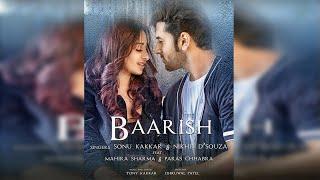 Baarish : Sonu Kakkar  ft, Mahira Sharma , Paras Chhabra   New Song 2020   Dainik Savera