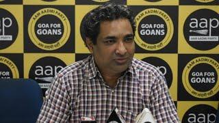 ????LIVE | AAP Convener Rahul Mhambre & AAP leader Prashant Naik press conference