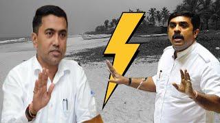 Heated arguments between Sawant and Vijai