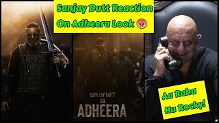 Sanjay Dutt Shocking Reaction On Adheera Fearful Look, KGF Chapter 2 Fans Ke Liye Diya Ye Message
