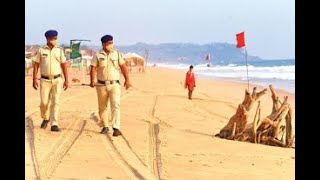 Police increase patrolling as the law and order situation in Goa deteriorates