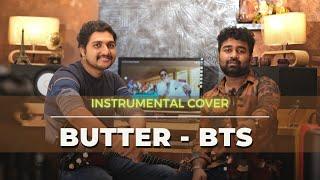 BTS - Butter (방탄소년단)  Cover   Abhijith P S Nair   Sandeep Mohan   Instrumental Violin Cover   KPOP