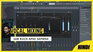 FL STUDIO 20 - Rap Song Mixing Vocals Effects | Hindi | 2021