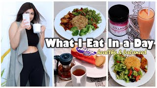 What I Eat In A Day | Easy Realistic & Healthy Meals