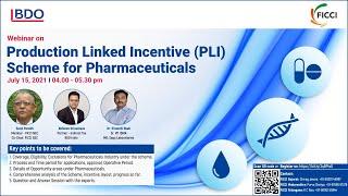 PLI scheme for Pharmaceuticals Industry