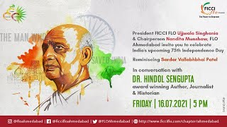 The Man who saved  India - In Conversation with Dr Hindol Sengupta