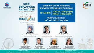 Singapore Pavilion & Showcase Launch