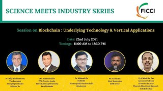 FICCI Industry Meets Science Session on Blockchain