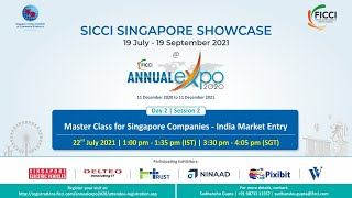 Master class for Singapore companies – India Market Entry