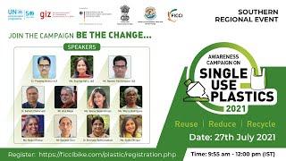 Southern Regional Event Awareness Campaign on Single-use plastics-2021