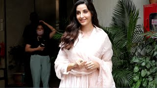 Bhuj: The Pride of India Promotion | Nora Fatehi Spotted In Andheri